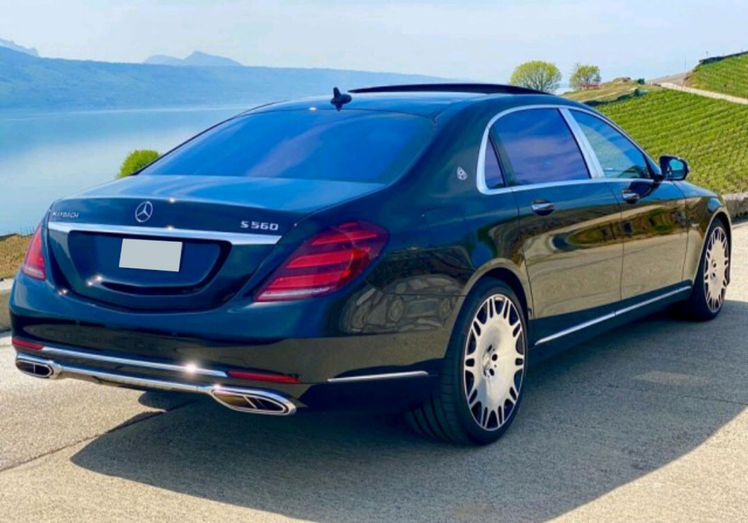 MERCEDES-BENZ S560 Maybach 4Matic (на 3 пассажира)
